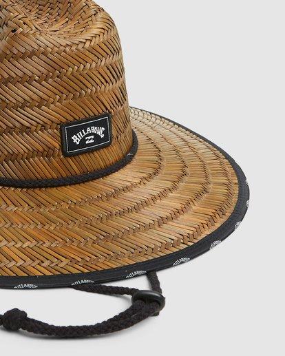 3 Waves Straw Hat Brown 9603343 Billabong