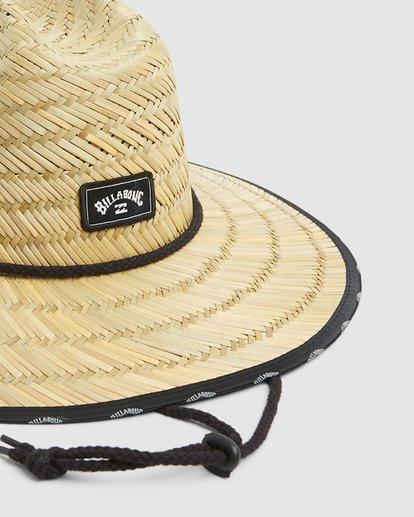 3 Waves Straw Hat Beige 9603343 Billabong
