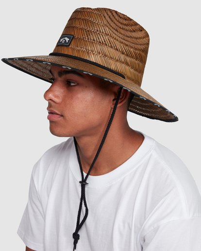 4 Waves Straw Hat Brown 9603343 Billabong