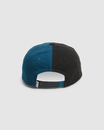 2 Halfrack Snapback Cap Black 9603344 Billabong