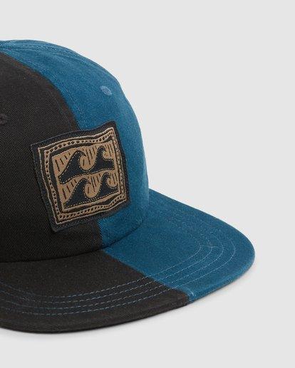 3 Halfrack Snapback Cap Black 9603344 Billabong