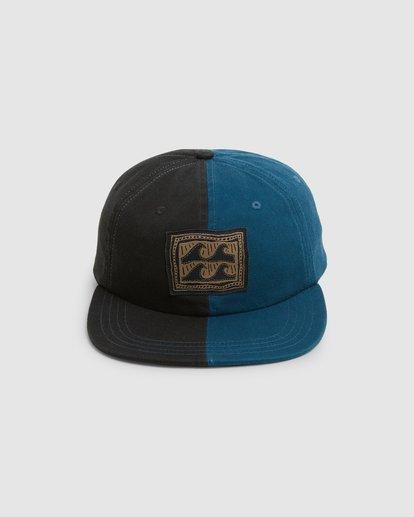 1 Halfrack Snapback Cap Black 9603344 Billabong