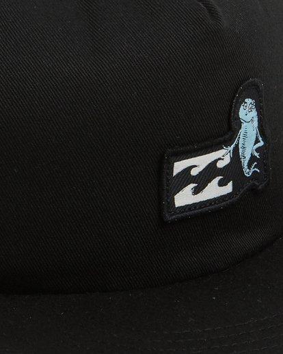 5 Dr. Seuss One Fish Two Fish Snapback Black 9603380 Billabong