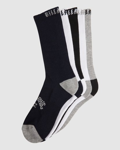 16 Sport Socks 5 Pack Socks Brown 9603601 Billabong