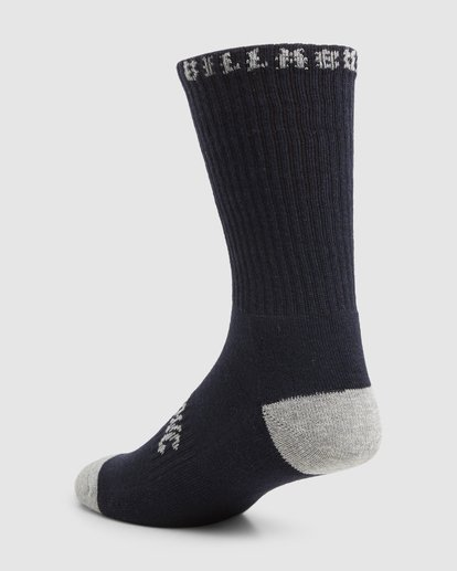 6 Sport Socks 5 Pack Socks Brown 9603601 Billabong