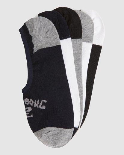 16 Invisible Socks 5 Pack Standard Multicolor 9603602 Billabong