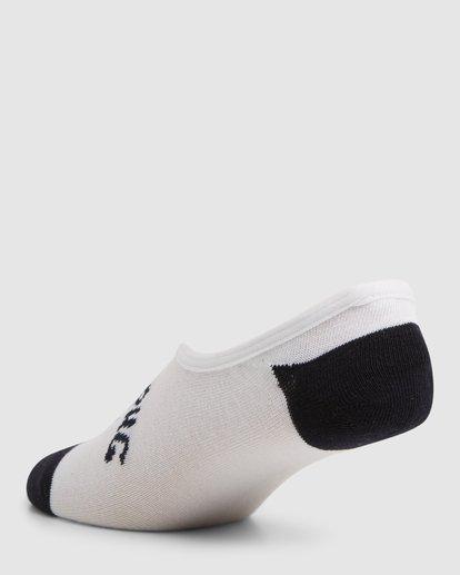 6 Invisible Socks 5 Pack Standard Multicolor 9603602 Billabong