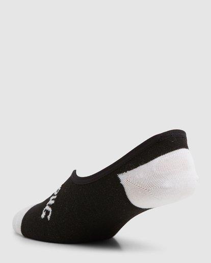 9 Invisible Socks 5 Pack Standard Multicolor 9603602 Billabong