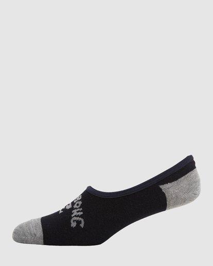 1 Invisible Socks 5 Pack Standard Multicolor 9603602 Billabong