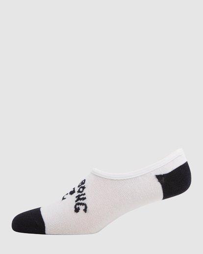 2 Invisible Socks 5 Pack Standard Multicolor 9603602 Billabong