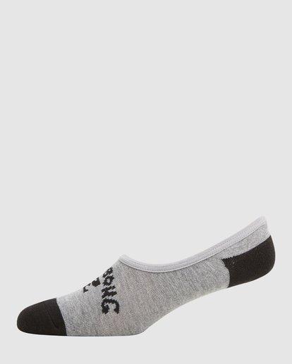 3 Invisible Socks 5 Pack Standard Multicolor 9603602 Billabong