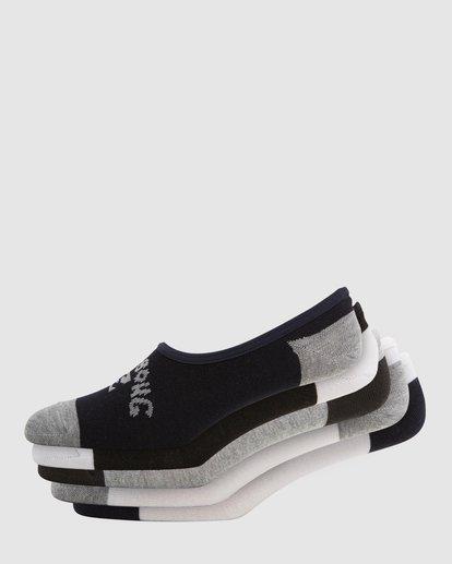 0 Invisible Socks 5 Pack Standard Multicolor 9603602 Billabong
