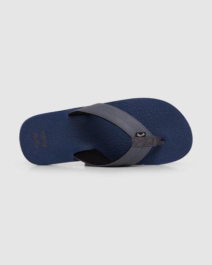 5 All Day Impact Cush Thongs Blue 9603930 Billabong