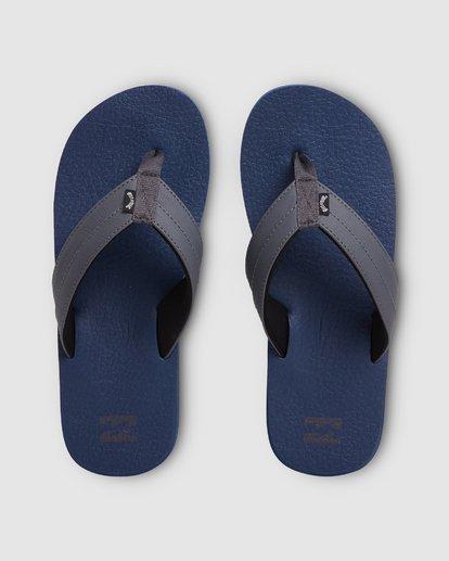 0 All Day Impact Cush Thongs Blue 9603930 Billabong