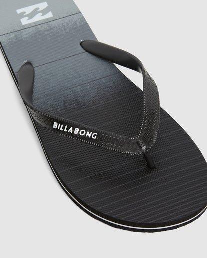7 73 Stripe Pro Thongs Grey 9603940 Billabong