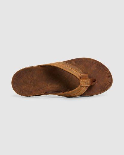 5 Brunswick Leather Thongs Brown 9603953 Billabong