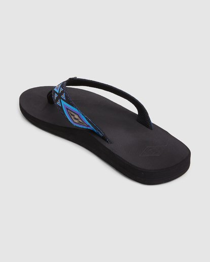 2 All Day Woven Thongs Black 9603956 Billabong