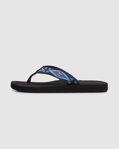 4 All Day Woven Thongs Black 9603956 Billabong