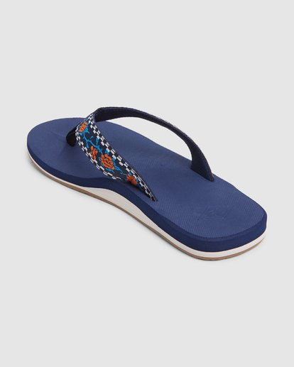 2 All Day Woven Thongs Blue 9603956 Billabong