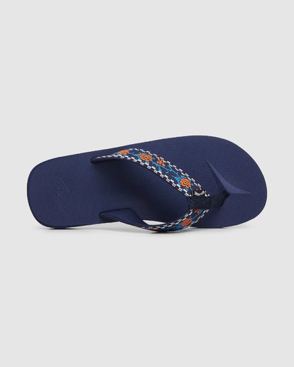 5 All Day Woven Thongs Blue 9603956 Billabong