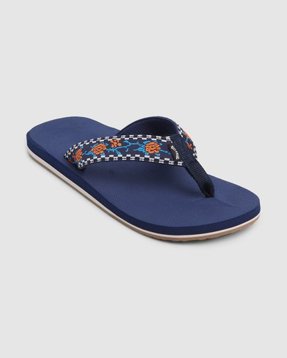 1 All Day Woven Thongs Blue 9603956 Billabong