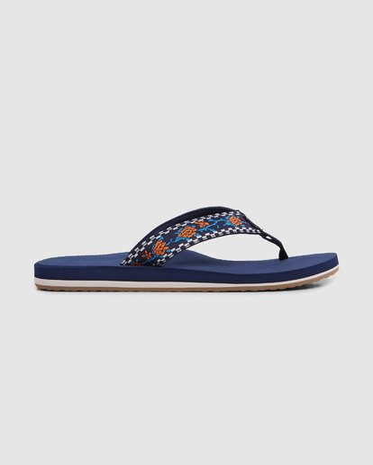 3 All Day Woven Thongs Blue 9603956 Billabong