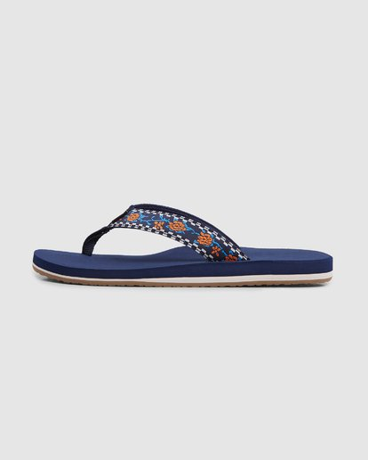 4 All Day Woven Thongs Blue 9603956 Billabong