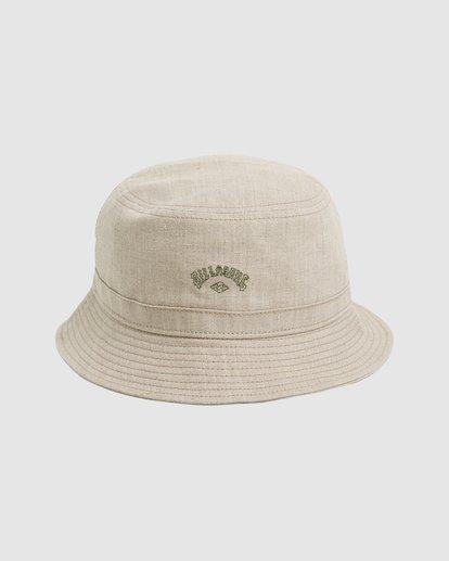 0 Wave Washed Bucket Hat Beige 9604320 Billabong