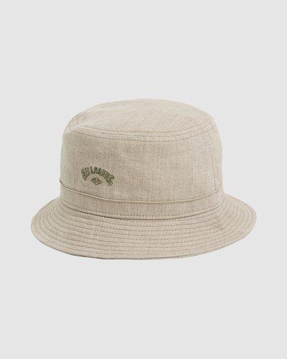 1 Wave Washed Bucket Hat Beige 9604320 Billabong