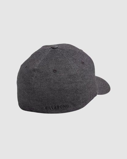 2 All Day Flexfit Cap Black 9604358 Billabong