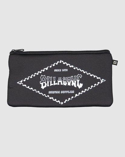 0 Small Pencil Case Black 9604512 Billabong