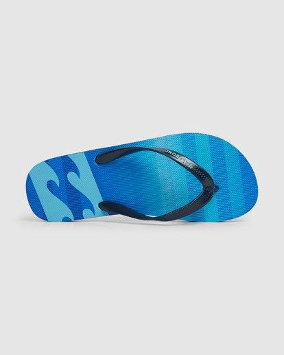 4 Fluid Pro Thongs Blue 9604950 Billabong