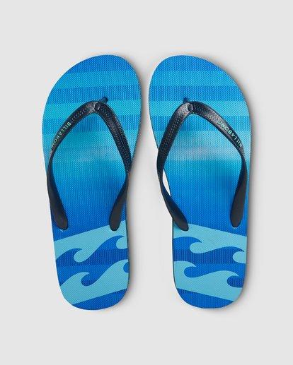 6 Fluid Pro Thongs Blue 9604950 Billabong