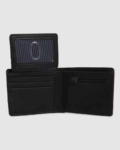 4 Dimension Wallet Black 9607195 Billabong