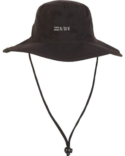 3 Adiv Sun Hat Black 9607304 Billabong