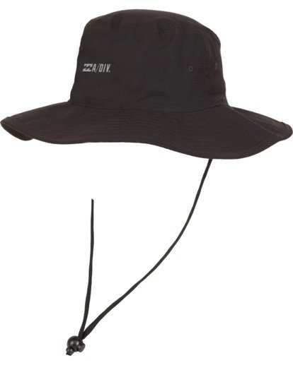 0 Adiv Sun Hat Black 9607304 Billabong
