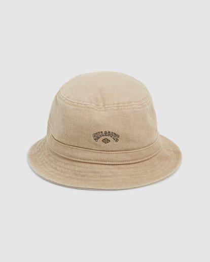 1 Wave Washed Bucket Hat Green 9607320 Billabong