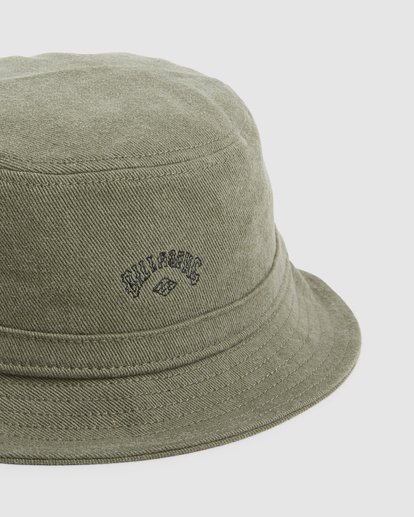 3 Wave Washed Bucket Hat Green 9607320 Billabong
