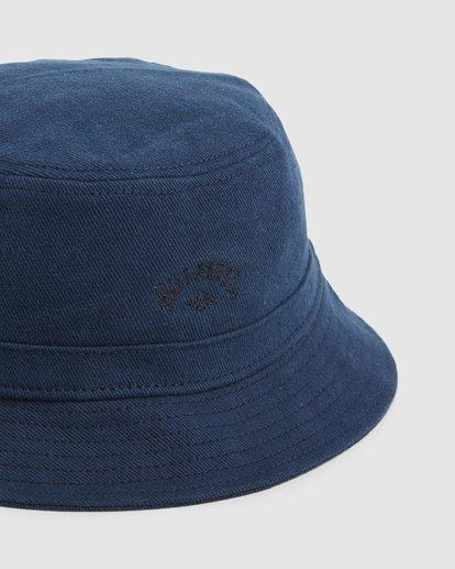 3 Wave Washed Bucket Hat Blue 9607320 Billabong