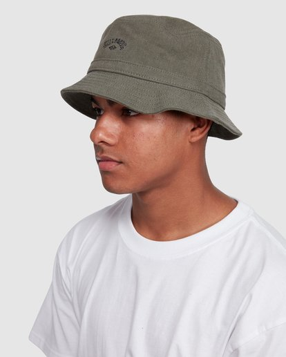 4 Wave Washed Bucket Hat Green 9607320 Billabong
