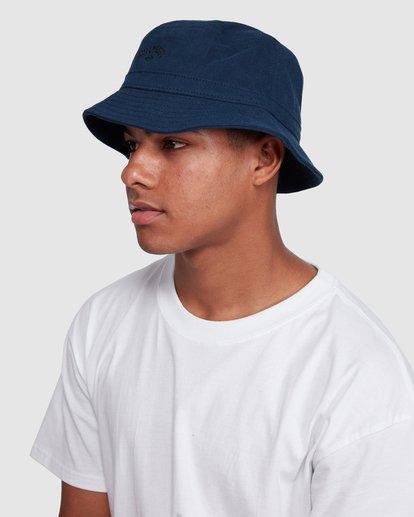4 Wave Washed Bucket Hat Blue 9607320 Billabong