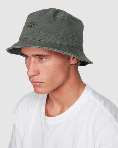 3 Wave Washed Bucket Hat Green 9607320 Billabong