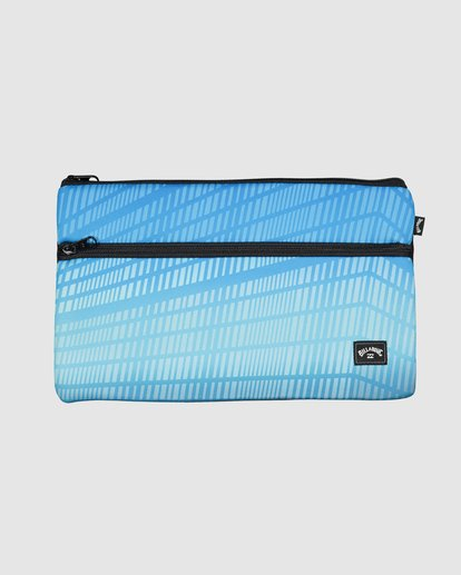 0 Jumbo Pencil Case Blue 9607501 Billabong