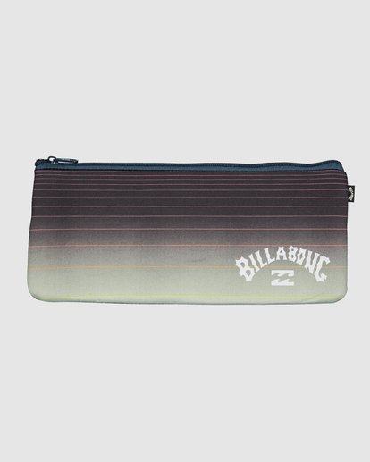 0 Large Pencil Case Black 9607502 Billabong