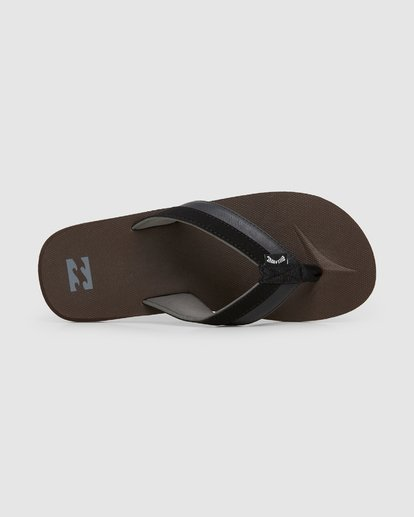 4 All Day Impact Thongs Brown 9607933 Billabong