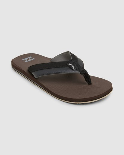 1 All Day Impact Thongs Brown 9607933 Billabong