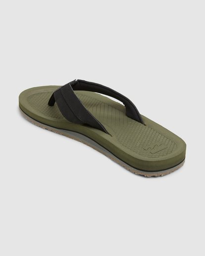 2 Offshore Impact Thongs Green 9607942 Billabong