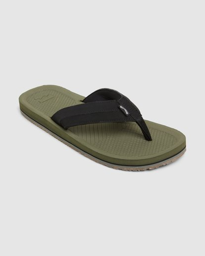 1 Offshore Impact Thongs Green 9607942 Billabong