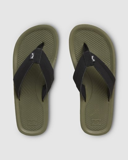 0 Offshore Impact Thongs Green 9607942 Billabong