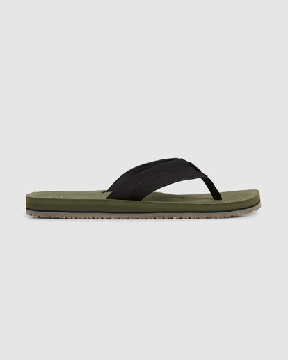 3 Offshore Impact Thongs Green 9607942 Billabong